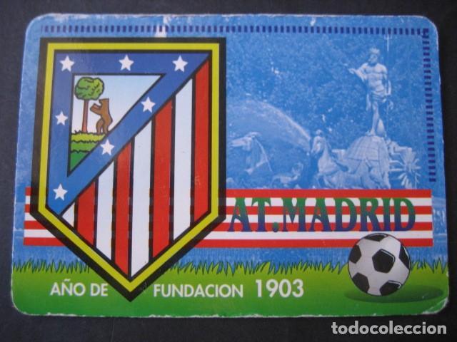 Coleccionismo deportivo: 6 CALENDARIOS FUTBOL ATLETICO DE MADRID. AÑOS 1987 - 88 - 94 - 97 - 00 - Foto 9 - 205801320