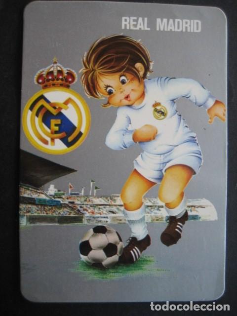 Coleccionismo deportivo: 6 CALENDARIOS FUTBOL REAL MADRID. AÑOS 1977 - 88 - 91 - 95 - 96 - 01 - 02 - Foto 3 - 205801563