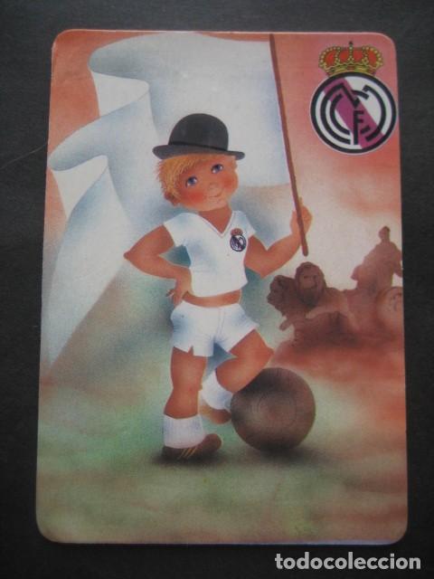 Coleccionismo deportivo: 6 CALENDARIOS FUTBOL REAL MADRID. AÑOS 1977 - 88 - 91 - 95 - 96 - 01 - 02 - Foto 5 - 205801563