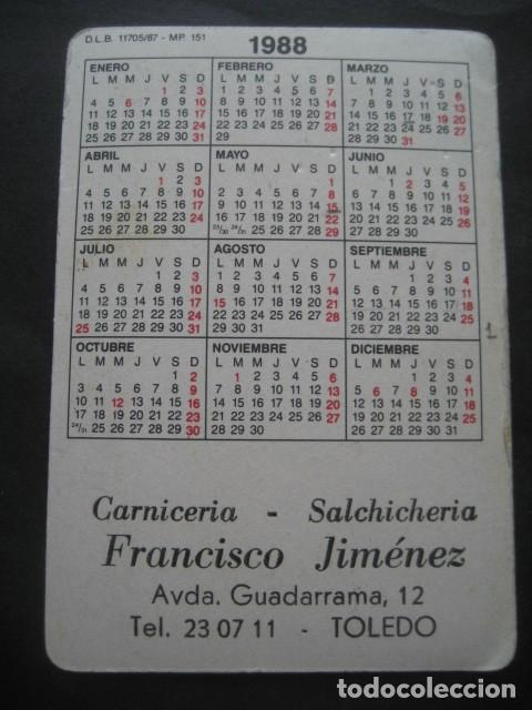 Coleccionismo deportivo: 6 CALENDARIOS FUTBOL REAL MADRID. AÑOS 1977 - 88 - 91 - 95 - 96 - 01 - 02 - Foto 6 - 205801563