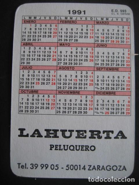Coleccionismo deportivo: 6 CALENDARIOS FUTBOL REAL MADRID. AÑOS 1977 - 88 - 91 - 95 - 96 - 01 - 02 - Foto 8 - 205801563