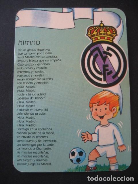 Coleccionismo deportivo: 6 CALENDARIOS FUTBOL REAL MADRID. AÑOS 1977 - 88 - 91 - 95 - 96 - 01 - 02 - Foto 9 - 205801563