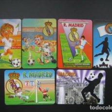 Coleccionismo deportivo: 66 CALENDARIOS FUTBOL REAL MADRID. AÑOS 1997 - 98 - 02 - 03 - 11. Lote 205801667