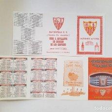 Coleccionismo deportivo: LOTE 2 CALENDARIOS LIGA ESPAÑOLA 2000/2001 - SEVILLA FC (SIN DOBLAR). Lote 205823153