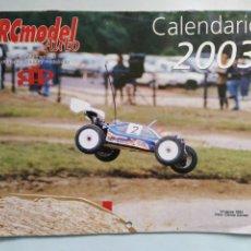 Coleccionismo deportivo: CALENDARIO ALMANAQUE DE PARED RCMODEL AUTO AÑO 2003. Lote 206834853