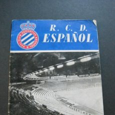 Coleccionismo deportivo: RCD ESPAÑOL-R.C.D. ESPANYOL-CALENDARIO LIGA TEMPORADA 1960 1961-FUTBOL-VER FOTOS-(V-20.491). Lote 207769905