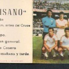 Coleccionismo deportivo: CALENDARIO NACIONAL DE LIGA. 1977 - 78. GENTILEZA: MESÓN EL PAISANO. (P/C49). Lote 209959273