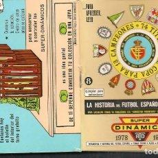 Coleccionismo deportivo: CALENDARIO SUPER DINÁMICO. LIGA DE FUTBOL TEMPORADA 1978 - 1979 (P/C49). Lote 209960501