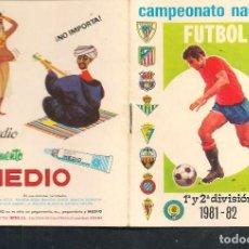 Coleccionismo deportivo: CALENDARIO FUTBOL TEMPORADA 1981 - 82. PUBLICIDAD: PEGAMENTO IMEDIO. (P/C49). Lote 209961290