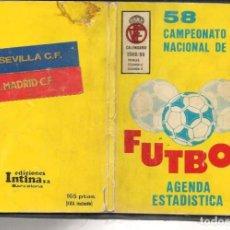 Coleccionismo deportivo: CALENDARIO / AGENDA ESTADISTICA. FUTBOL: 58 CAMPEONATO 1988 - 89. (P/C49). Lote 209962761
