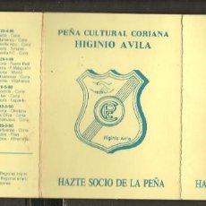 Coleccionismo deportivo: CALENDARIO 89 - 90. CORIA, C.F. PEÑA CULTURAL CORIANA. (P/C49). Lote 209963241