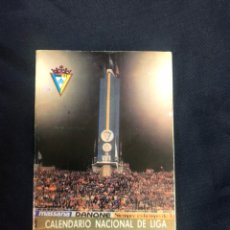 Coleccionismo deportivo: CALENDARIO LIGA NACIONAL FÚTBOL 1988/89. Lote 210613443