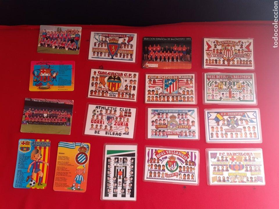 CALENDARIO DE EQUIPOS FUTBOL DE ESPAÑA AÑOS 1996 (Coleccionismo Deportivo - Documentos de Deportes - Calendarios)