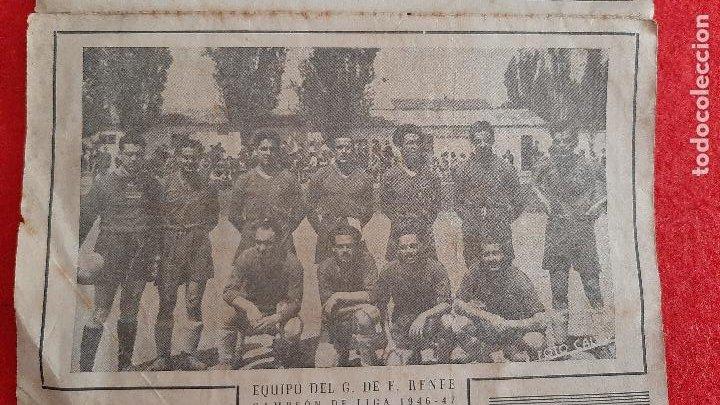 Coleccionismo deportivo: CALENDARIO FUTBOL LIGA TEMPORADA 1947 1948 EDUCACION Y DESCANSO EQUIPO RENFE Y OCASO ORIGINAL RB - Foto 2 - 210758295