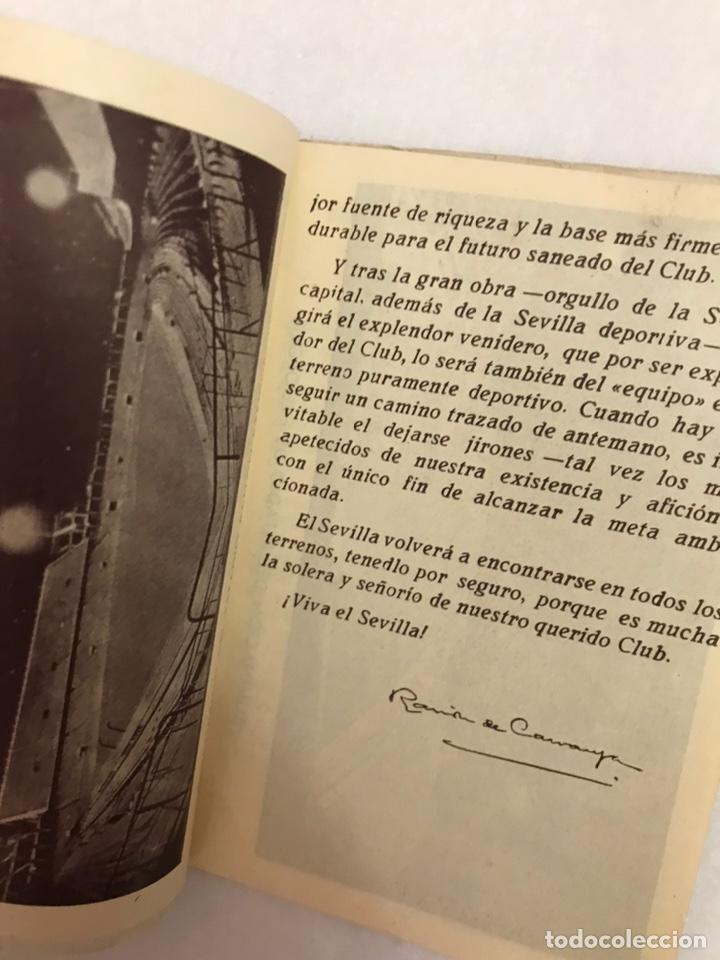 Coleccionismo deportivo: CALENDARIO LIGA FÚTBOL. RAIMUNDO. TEMPORADA 1959 - 1960. ESPAÑA. REAL BETIS BALOMPIÉ. SEVILLA F.C - Foto 3 - 210946285