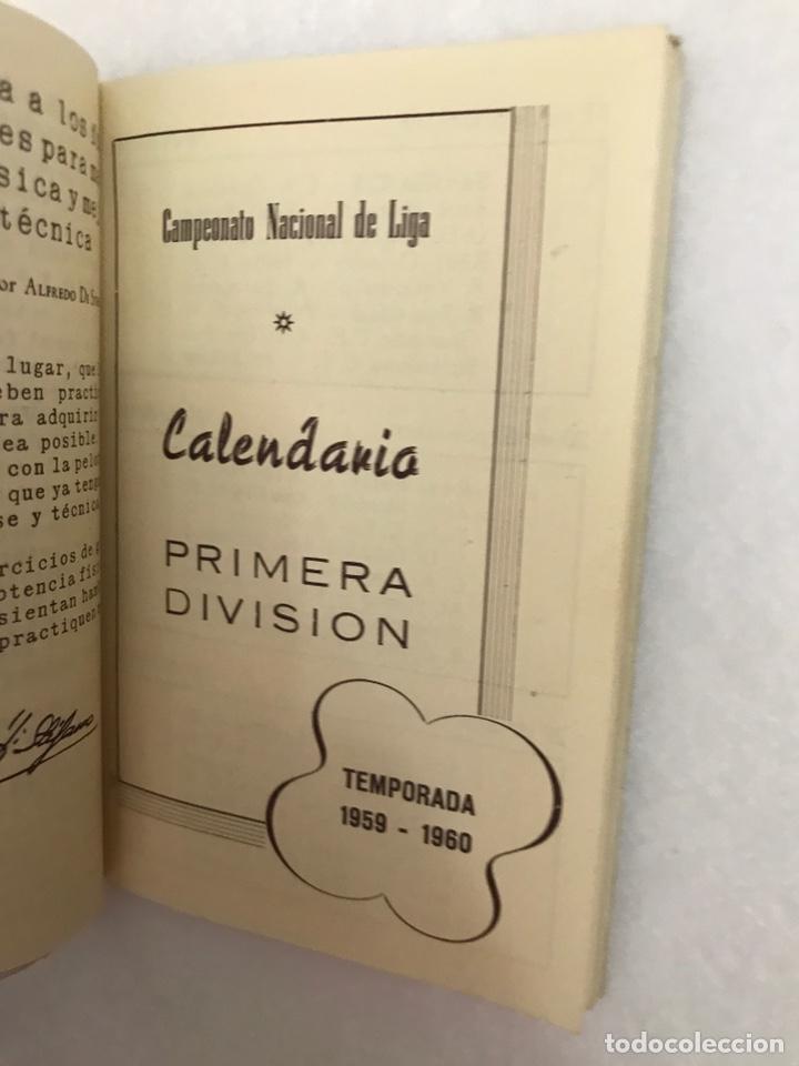 Coleccionismo deportivo: CALENDARIO LIGA FÚTBOL. RAIMUNDO. TEMPORADA 1959 - 1960. ESPAÑA. REAL BETIS BALOMPIÉ. SEVILLA F.C - Foto 6 - 210946285