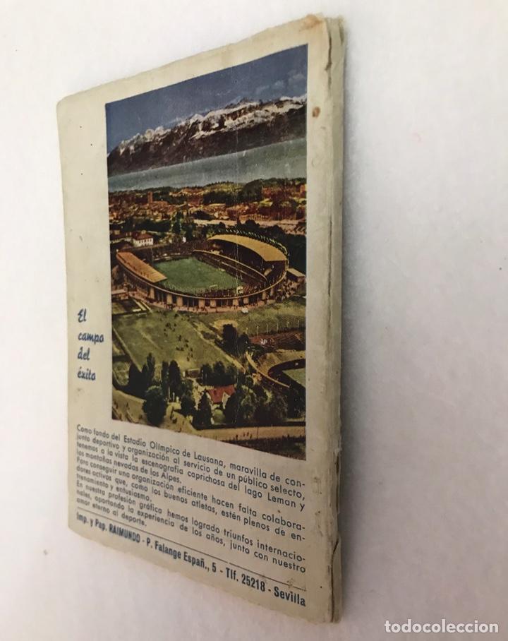 Coleccionismo deportivo: CALENDARIO LIGA FÚTBOL. RAIMUNDO. TEMPORADA 1959 - 1960. ESPAÑA. REAL BETIS BALOMPIÉ. SEVILLA F.C - Foto 11 - 210946285