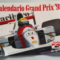 Coleccionismo deportivo: CALENDARIO GRAN PREMIO FÓRMULA 1 AÑO 1993 CON PÓSTER INTERIOR. Lote 211440544