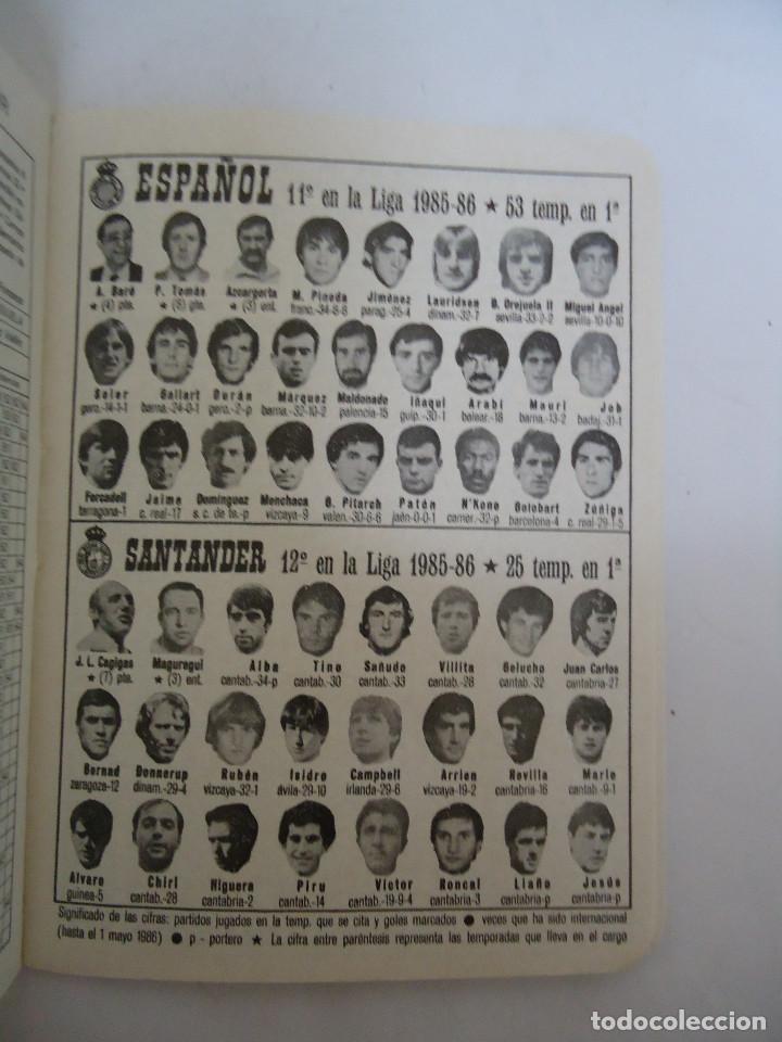 Coleccionismo deportivo: CALENDARIO DINAMICO DE LA TEMPORADA 1986 - 1987. - Foto 2 - 211742515