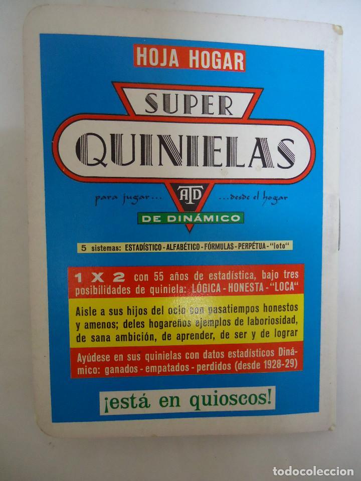 Coleccionismo deportivo: CALENDARIO DINAMICO DE LA TEMPORADA 1986 - 1987. - Foto 3 - 211742515