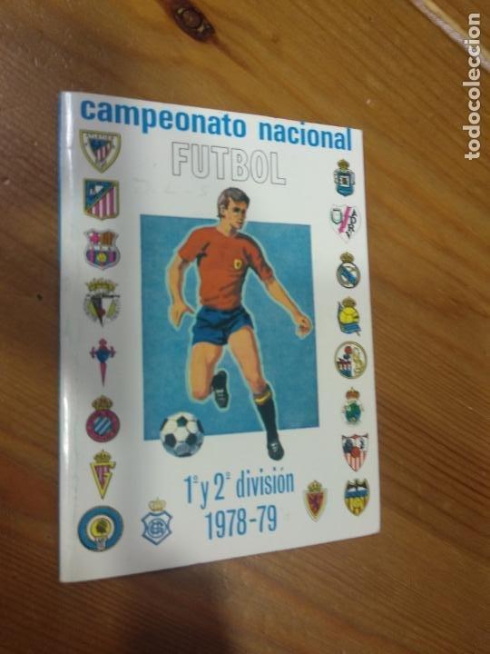 CAMPEONATO NACIONAL DE FUTBOL 1ª Y 2ª DIVISION TEMPORADA 1978 - 79 CALENDARIO PEGAMENTO IMEDIO (Coleccionismo Deportivo - Documentos de Deportes - Calendarios)