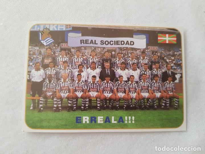 CALENDARIO TIPO ALMANAQUE REAL SOCIEDAD (AÑO 1998) CON FOTO DE LA PLANTILLA (Coleccionismo Deportivo - Documentos de Deportes - Calendarios)