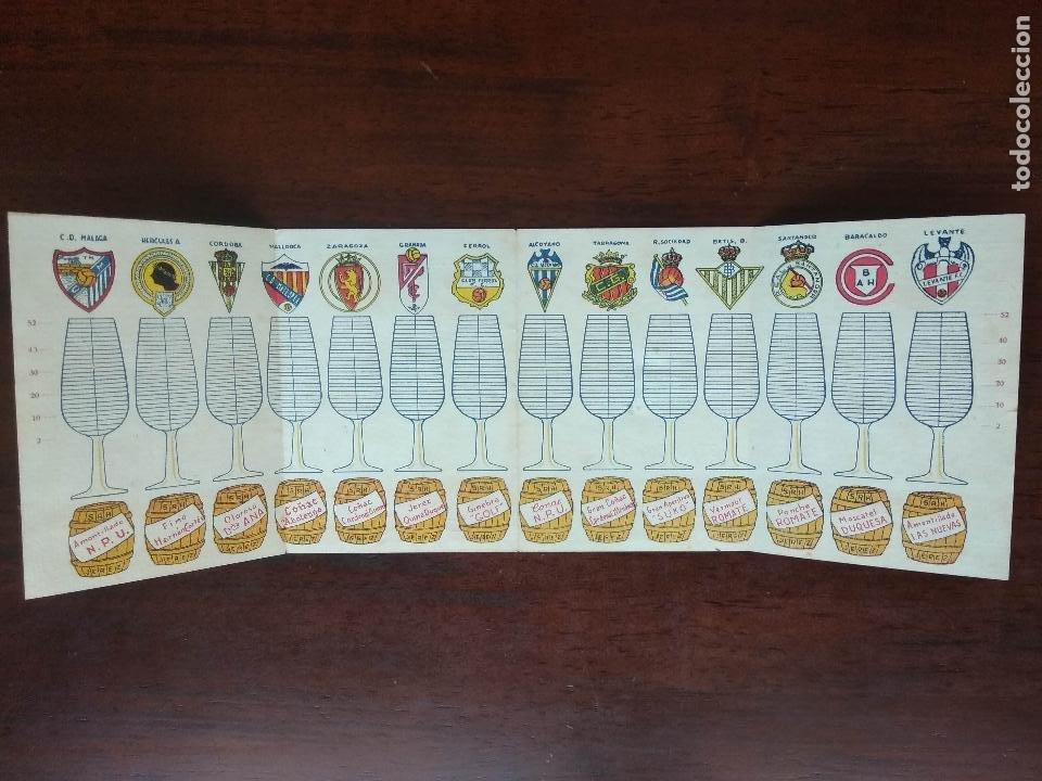 Coleccionismo deportivo: CALENDARIO FUTBOL CAMPEONATO NACIONAL DE LIGA SEGUNDA DIVISION 46 47 1946 1947 MALAGA JEREZ SANCHEZ - Foto 2 - 211891140