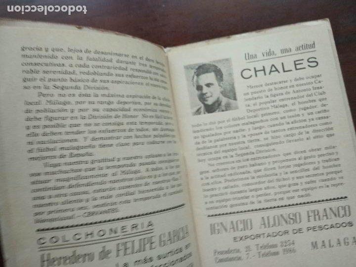 Coleccionismo deportivo: CALENDARIO LIBRITO FUTBOL CAMPEONATO NACIONAL DE LIGA 46 47 1946 1947 SEGUNDA DIVISION MALAGA 54PAG. - Foto 3 - 211891376