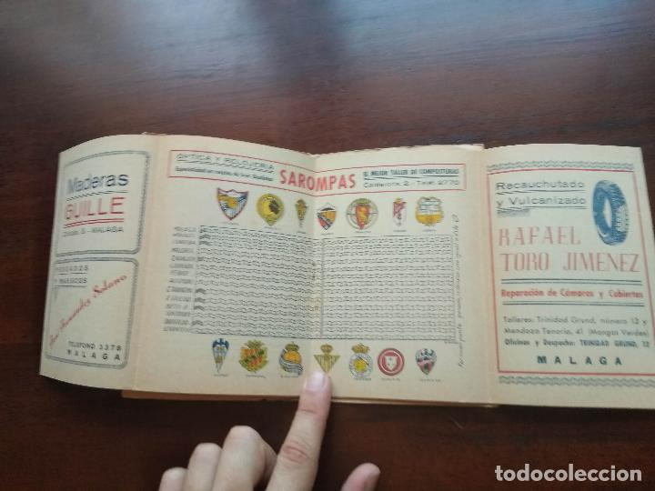 Coleccionismo deportivo: CALENDARIO LIBRITO FUTBOL CAMPEONATO NACIONAL DE LIGA 46 47 1946 1947 SEGUNDA DIVISION MALAGA 54PAG. - Foto 6 - 211891376