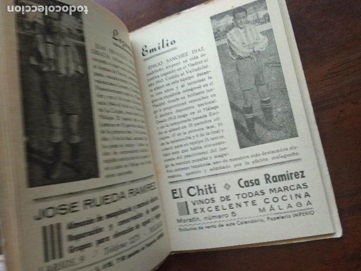 Coleccionismo deportivo: CALENDARIO LIBRITO FUTBOL CAMPEONATO NACIONAL DE LIGA 46 47 1946 1947 SEGUNDA DIVISION MALAGA 54PAG. - Foto 7 - 211891376