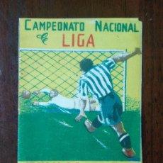 Coleccionismo deportivo: CALENDARIO FUTBOL CAMPEONATO NACIONAL DE LIGA 50 51 TEMPORADA 1950 1951 MALAGA CALZADOS SERRANO. Lote 211892053