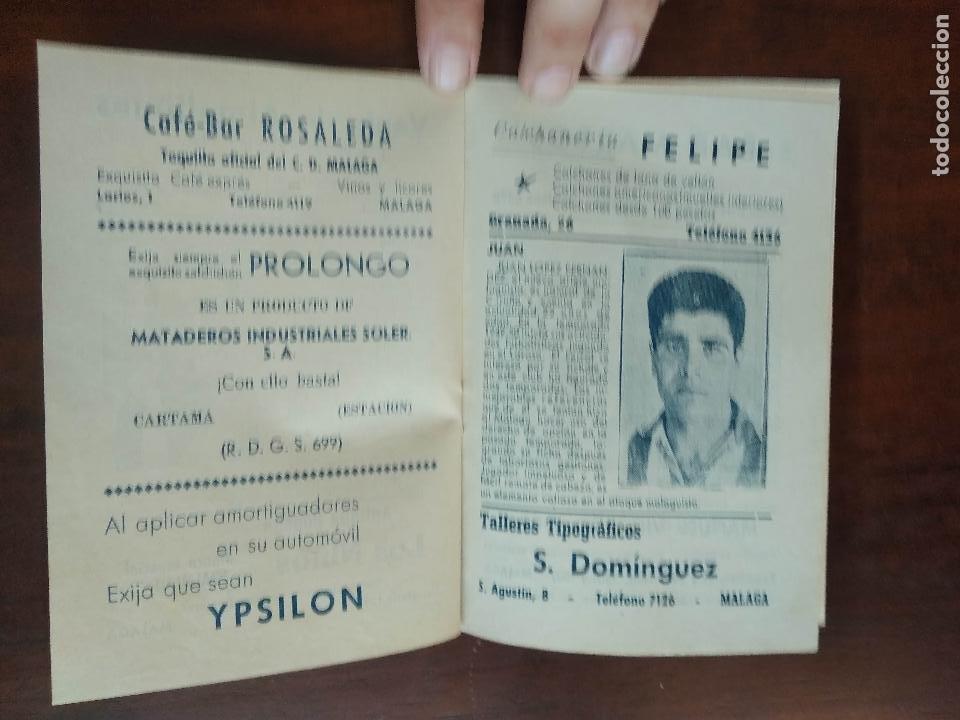Coleccionismo deportivo: CALENDARIO FUTBOL LIGA 53 54 TEMPORADA 1953 1954 CON BIOGRAFIAS DE LOS JUGADORES DEL CD MALAGA - Foto 4 - 211892692