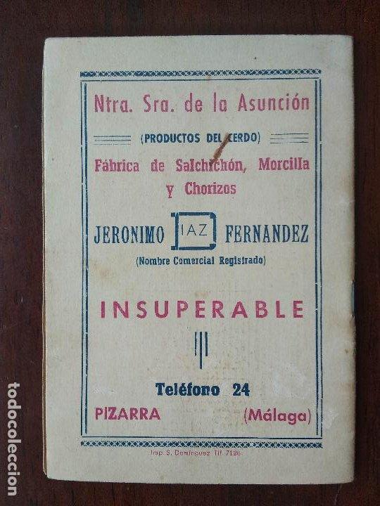 Coleccionismo deportivo: CALENDARIO FUTBOL LIGA 53 54 TEMPORADA 1953 1954 CON BIOGRAFIAS DE LOS JUGADORES DEL CD MALAGA - Foto 6 - 211892692