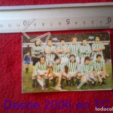 Coleccionismo deportivo: 1978 REAL BETIS BALOMPIE CALENDARIO LIGA 2ª DIVISIÓN C6. Lote 212843995