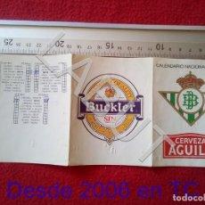 Coleccionismo deportivo: 1991 REAL BETIS BALOMPIE CALENDARIO LIGA 1ª DIVISIÓN C6. Lote 212844751