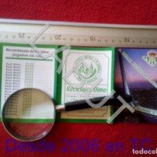 Coleccionismo deportivo: 2002 REAL BETIS BALOMPIE CALENDARIO LIGA 1ª DIVISIÓN C6. Lote 212844856