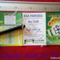 Coleccionismo deportivo: 2002 REAL BETIS BALOMPIE CALENDARIO LIGA 1ª DIVISIÓN C6. Lote 212844945