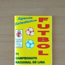 Coleccionismo deportivo: FUTBOL CALENDARIO DE LA LIGA TEMPORADA 2001-2002. Lote 213807513