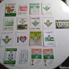 Coleccionismo deportivo: LOTE DE CALENDARIOS DE FÚTBOL ( DÉCADA DE LOS 80 Y LOS 90 ). Lote 214091418