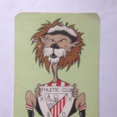 Coleccionismo deportivo: ATHLETIC CLUB BILBAO CALENDARIO HIMNO GARAY - LEÓN. Lote 214132937
