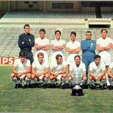 Coleccionismo deportivo: CALENDARIO FUTBOL 1971 - REAL MADRID - 14 POSTALES DE LOS JUGADORES.. Lote 215491706