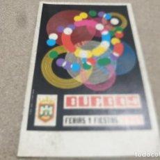 Coleccionismo deportivo: PROGRAMA DE FERIAS Y FIESTAS....BURGOS...1971...... Lote 216423982
