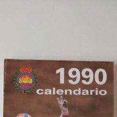 Coleccionismo deportivo: CALENDARIO DEPORTIVO MOTOCICLISTA 1990. Lote 216895533