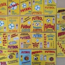 Coleccionismo deportivo: LOTE 23 CALENDARIO CAMPEONATO NACIONAL DE LIGA - AGENDA ESTADISTICA - PRIMERA SEGUNDA B DESDE 91/92. Lote 217836438