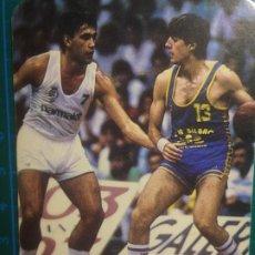 Coleccionismo deportivo: CALENDARIO 1987 CAJA DE AHORROS MUNICIPAL DE BILBAO BALONCESTO-BASKET CAJABILBAO BIRIUKOV-CABEZUDO. Lote 218893238
