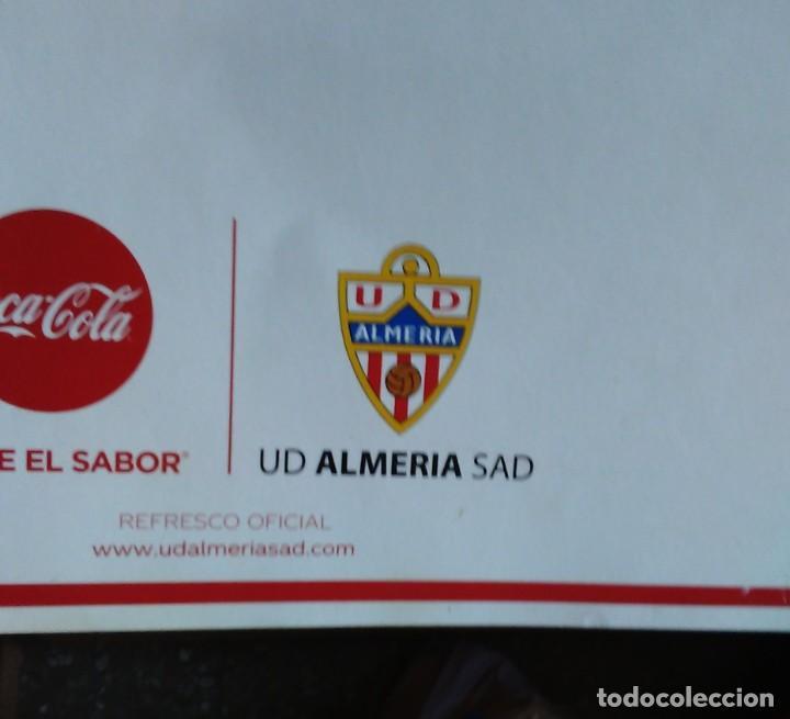 Coleccionismo deportivo: CALENDARIO 2019 COCA COLA CLUB DE FUTBOL UNIÓN DEPORTIVA ALMERÍA UD ALMERÍA - Foto 3 - 219217783