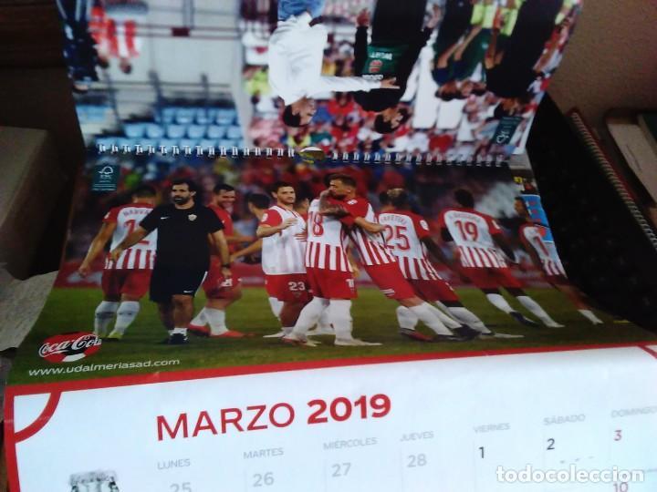 Coleccionismo deportivo: CALENDARIO 2019 COCA COLA CLUB DE FUTBOL UNIÓN DEPORTIVA ALMERÍA UD ALMERÍA - Foto 5 - 219217783