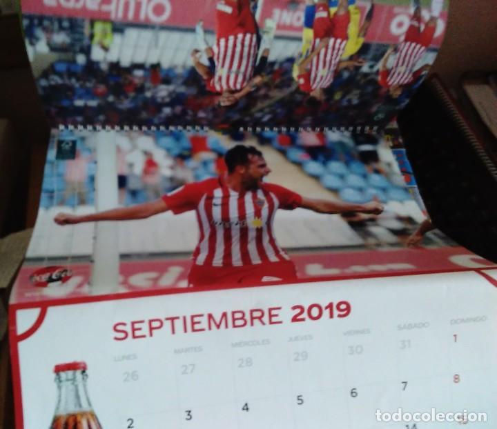 Coleccionismo deportivo: CALENDARIO 2019 COCA COLA CLUB DE FUTBOL UNIÓN DEPORTIVA ALMERÍA UD ALMERÍA - Foto 2 - 219217783