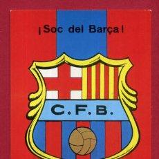 Coleccionismo deportivo: CALENDARIO PUBLICIDAD ESCUDO FUTBOL BARCELONA 1974 NO FOURNIER ORIGINAL CAL10537. Lote 222039265