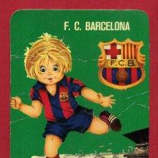 Coleccionismo deportivo: CALENDARIO PUBLICIDAD ESCUDO FUTBOL BARCELONA 1976 NO FOURNIER ORIGINAL CAL10539. Lote 222039391
